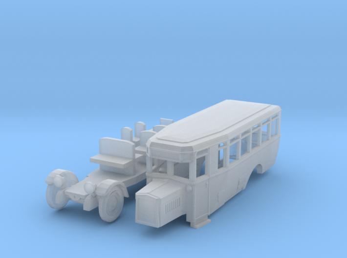 Stadtomnibus (N 1:160) 3d printed