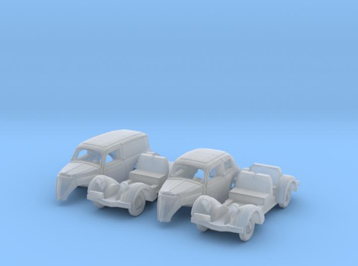 SET 2x Ford Eifel (N 1: 160) 3d printed