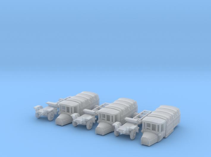 SET 3x Daimler DR4 1/2 (N 1:160) 3d printed