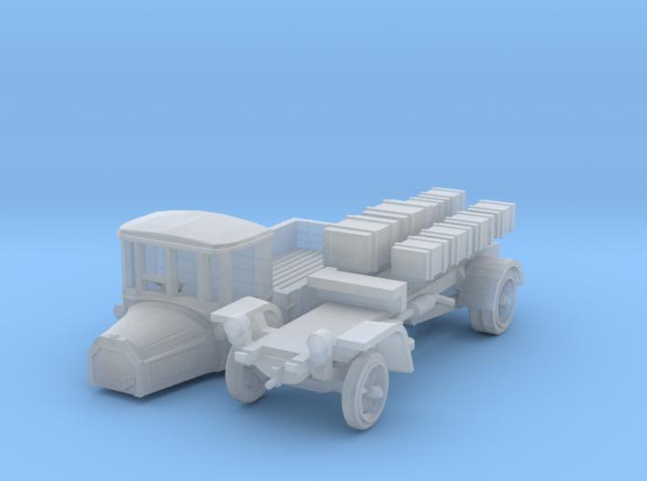 Daimler DR4 1/2 Marienfelder - open (N 1:160) 3d printed