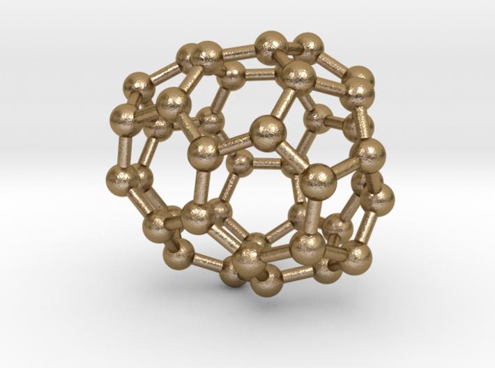 0131 Fullerene C40-25 c2 3d printed