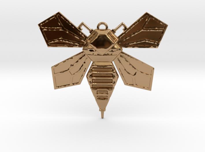 Hornet Solid Wings pendant 3d printed