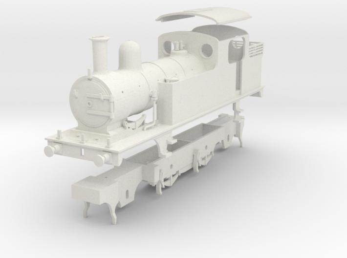 LNER class F4 2.4.2 tank locomotive kit 3d printed