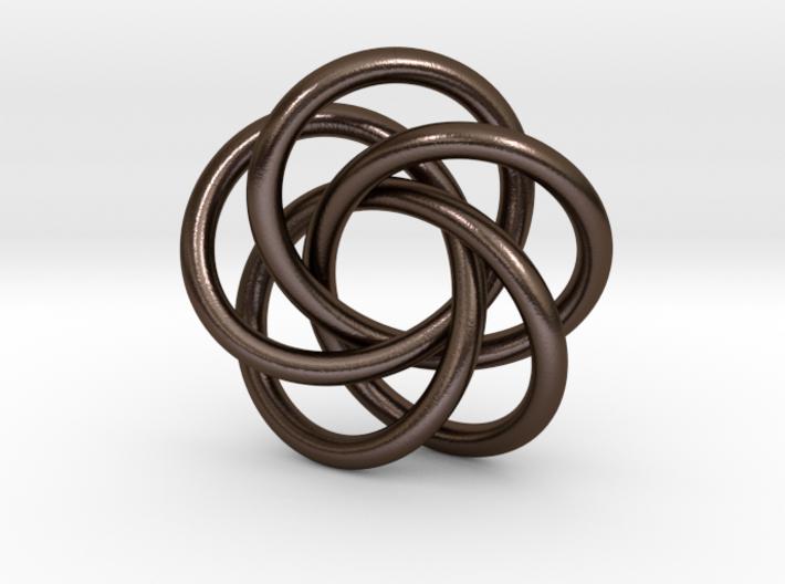 Torus Knot Pendant #2 3d printed