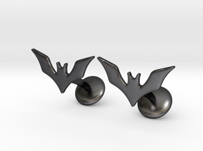 Batman Beyond Cufflinks 3d printed