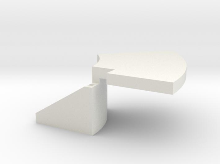 Temperature probe holder for Ca2+ imaging 3d printed