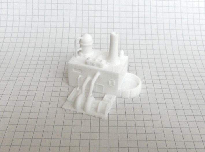 Water Purification Plant  (1/285) 3d printed successfully printed in polished WSF