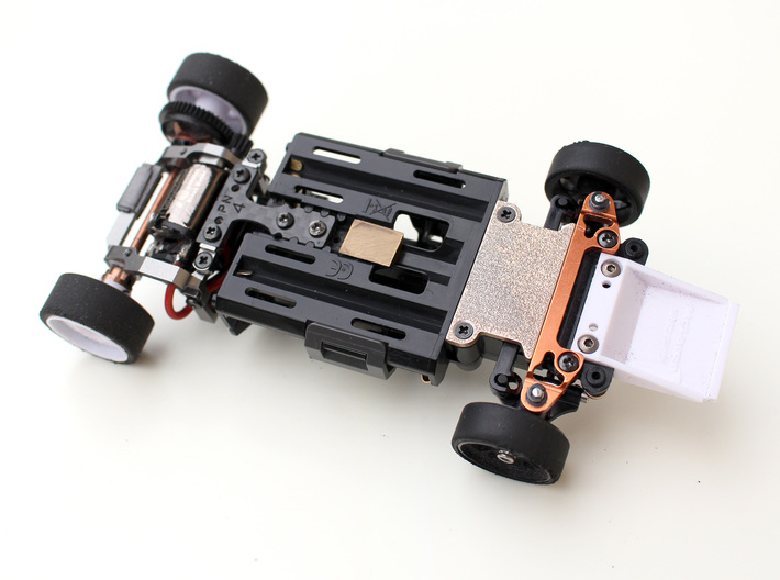 Kyosho Mini-Z MR-03 Front Lower Cover 3d printed Installed cover