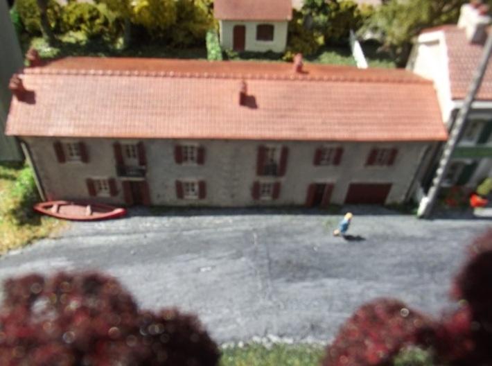 Cottages - WSF - N - 1:160 3d printed