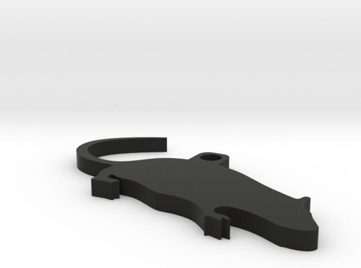 Cute Rat Keychain 3d printed