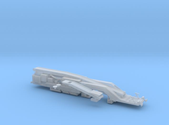 N Gauge Plasser & Theurer VM 80 Vacuum Wagon (HOBC 3d printed