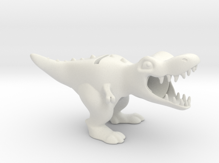 T. Rex iPhone Amplifier & Charging Station 3d printed