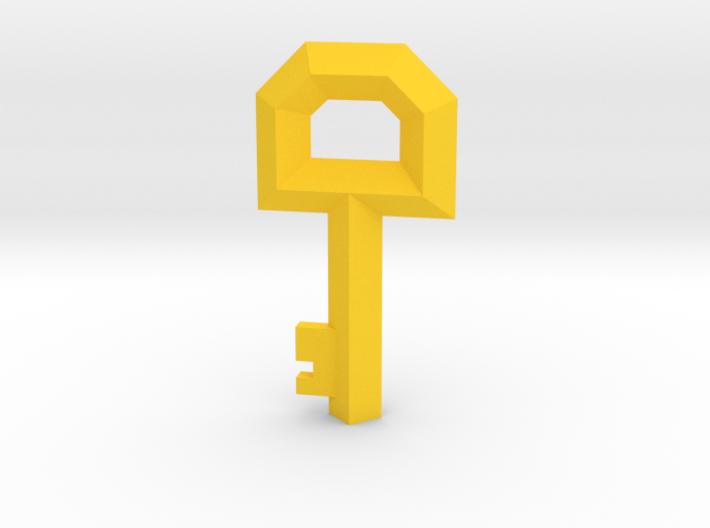 Small Key Replica  (Legend of Zelda, 1986) 3d printed