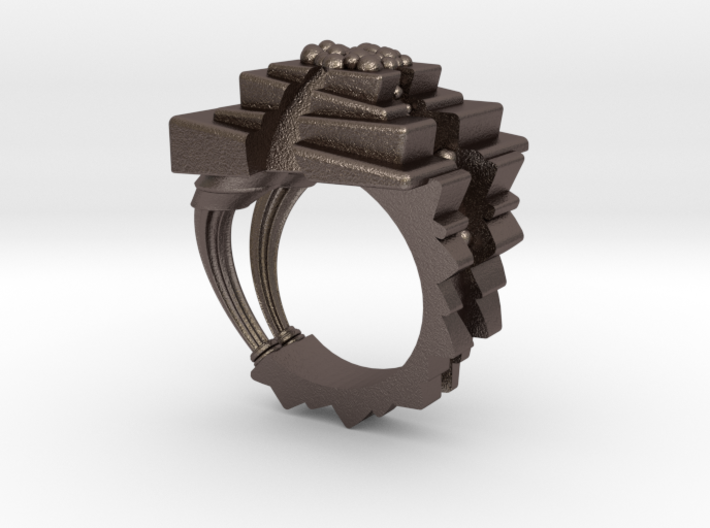 ArchitectureRing_Size7-7.5 3d printed