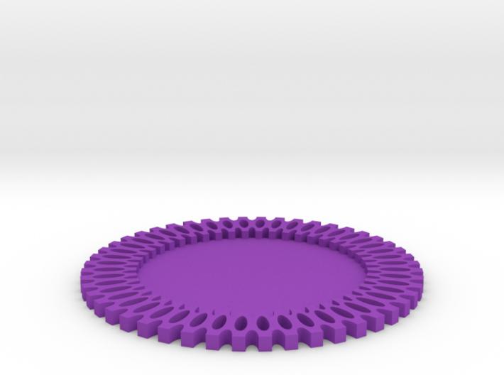 Maker Coaster 3d printed