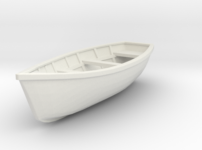 Wooden Boat Scale O 1 43 3d Printed