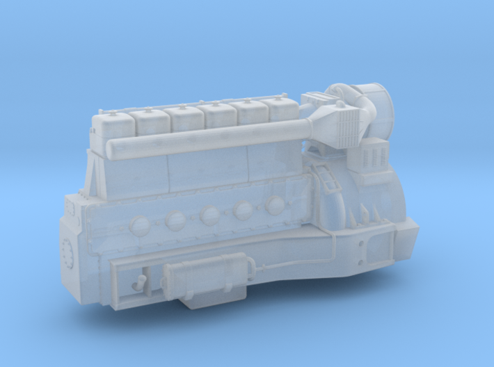 4mm Sulzer 6 LDA 28-REV2 3d printed