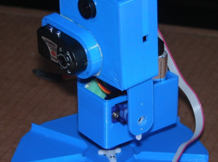PIXY Color Chase Pan&Tilt KIT for miniCamcorder 3d printed
