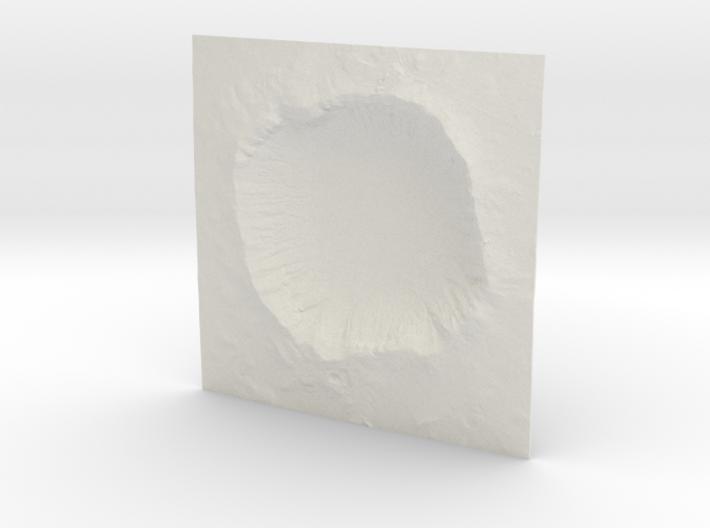 6'' Meteor Crater, Arizona, USA 3d printed