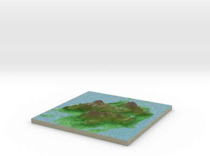 Terrafab generated model Wed May 06 2015 22:18:43 3d printed