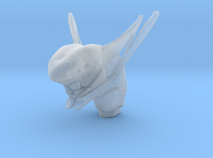 Subject 2j | Tongue (After IMDO) 3d printed