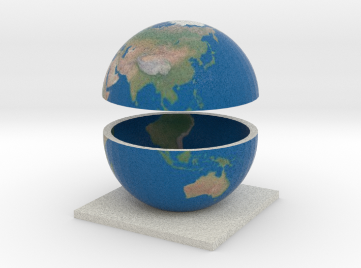 Earth 3d printed