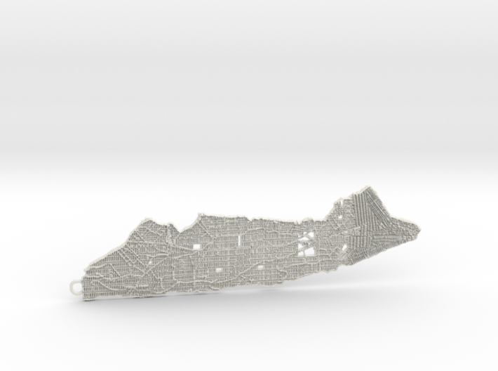Manhattan Pendant 3d printed