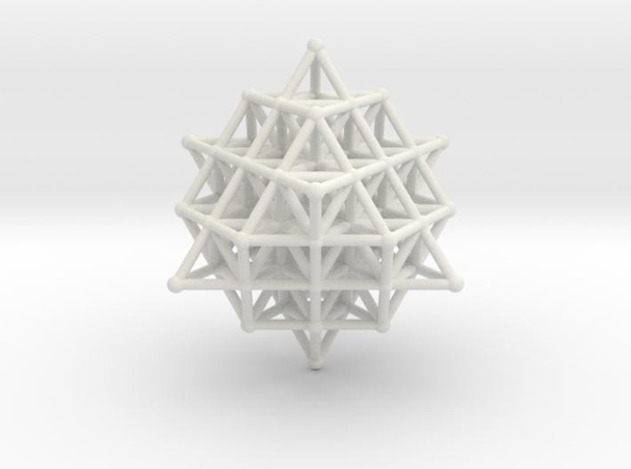 64 Tetrahedron Grid 30mm 3d printed