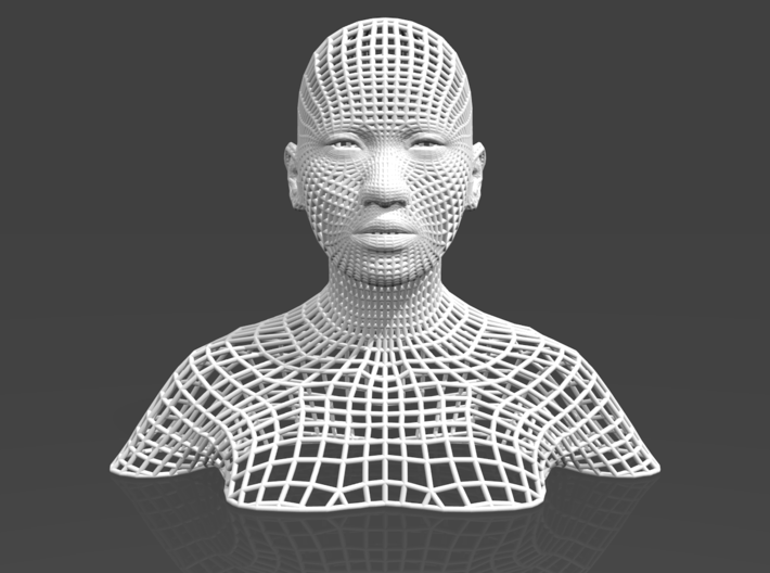 Border Object - Woman 0 3d printed
