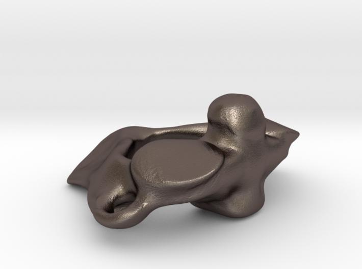 Anatomical Vertebra Axis (C2) Pendant 3d printed