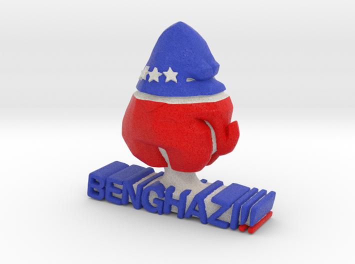 Benghazi!! Benghazi!! plug 3d printed