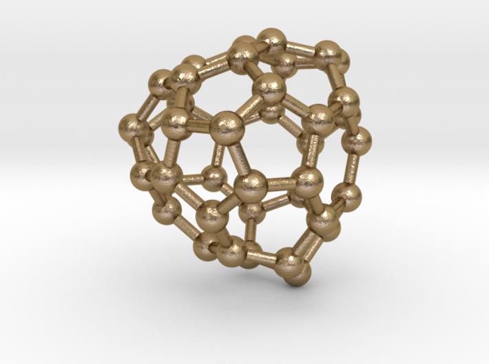 0152 Fullerene C40-40 td 3d printed