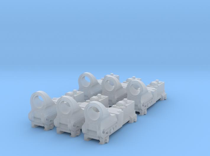 1:6 Reflex Sight V3 X6 3d printed
