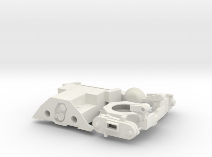 LAV TOW 1/18 3d printed