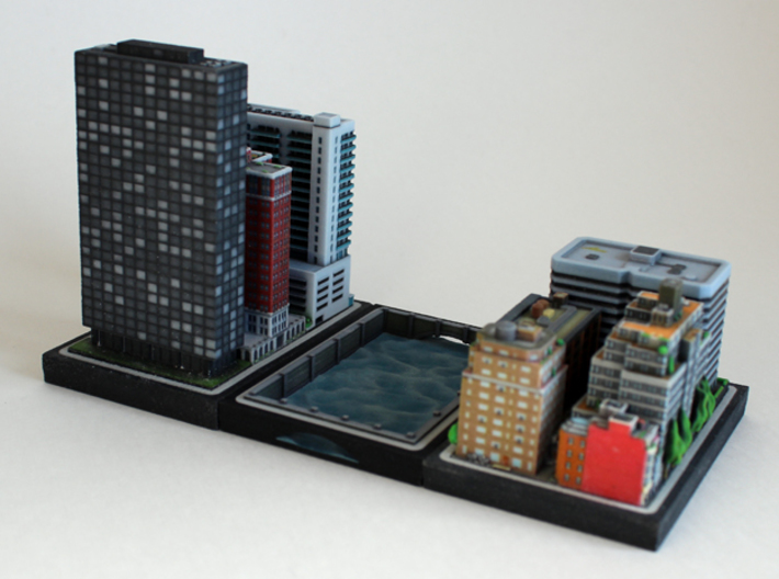 Canal Plate 3d printed