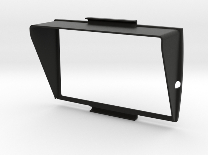 Sunshade A (38mm) for BMW Navigator 5 3d printed