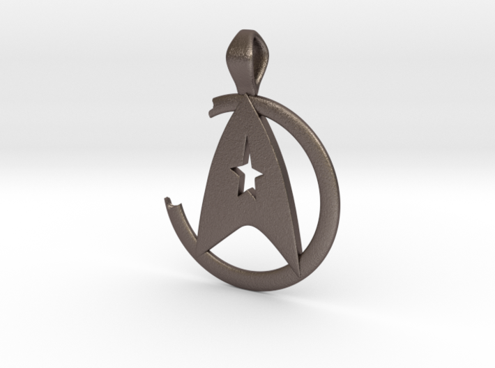 Khan Pendant - Star Trek 3d printed