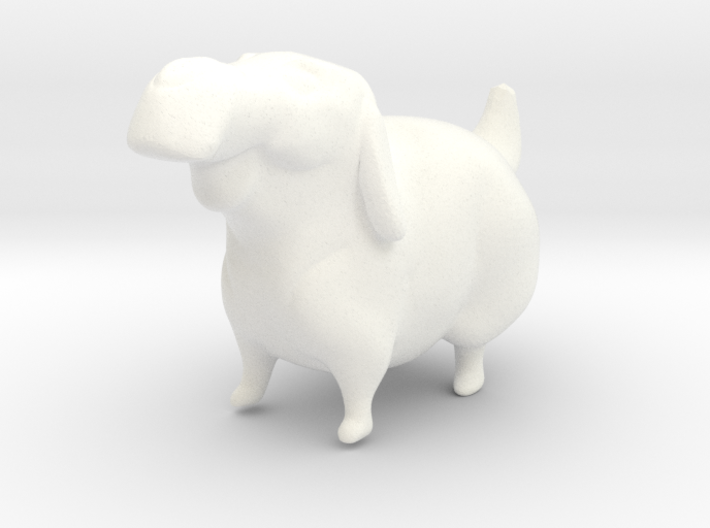 Labrador Retriever 3d printed