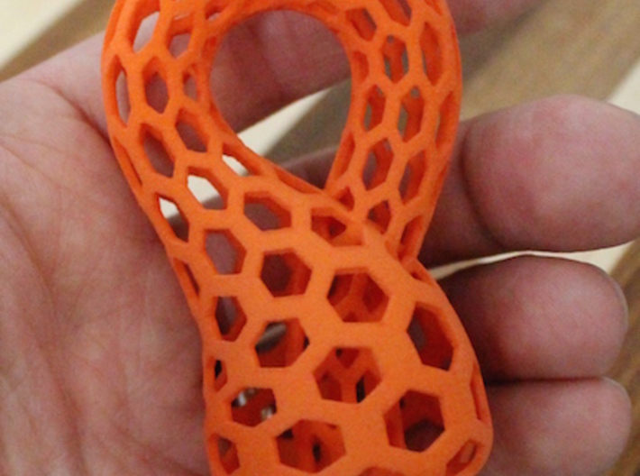 Klein Bottle, Small 3d printed