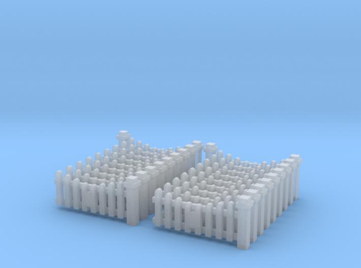 Eingangszaun - 1:220 (Z scale) 3d printed