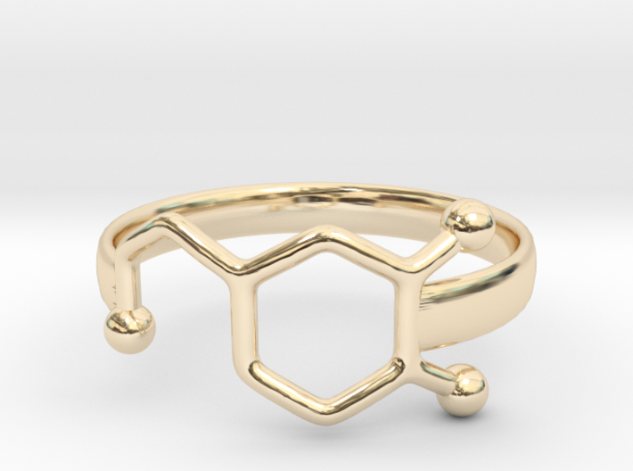 Dopamine Ring Size 6 3d printed