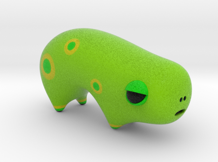 Green Spotted Animal Two 3d printed