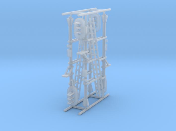 N NS hoog lichtsein RECHTS, 4 stuks 3d printed