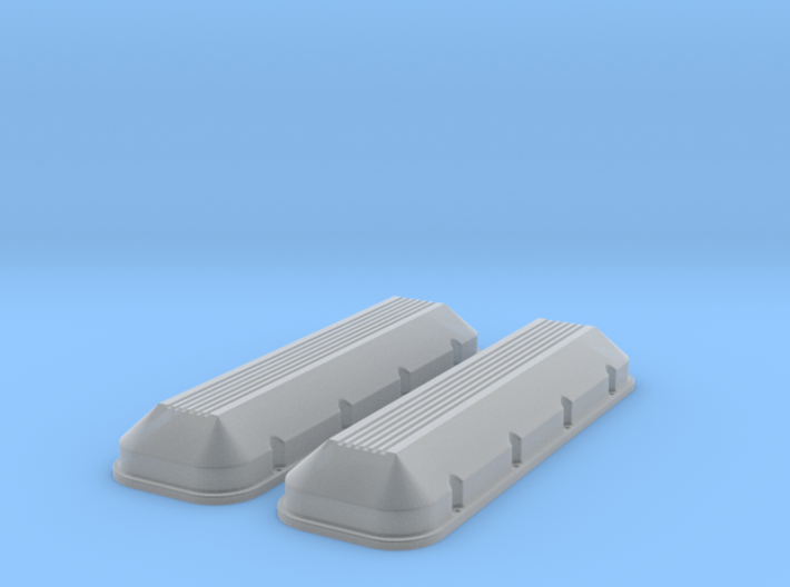 1/12 BBC Low Profile Valve Covers 3d printed