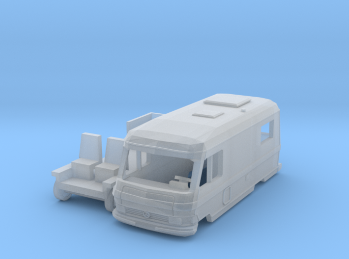Hymermobil 550 (N 1:160) 3d printed