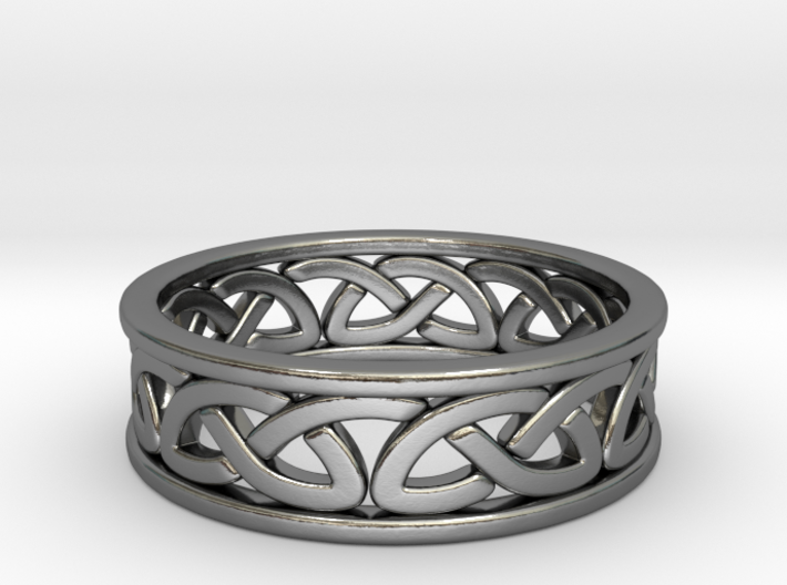 Celtic Ring 8 3d printed