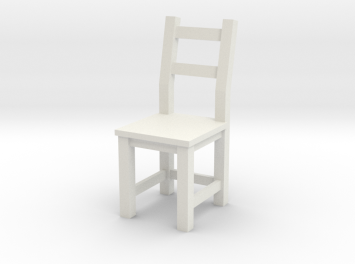 1:24 Ivar Chair (not full size) 3d printed