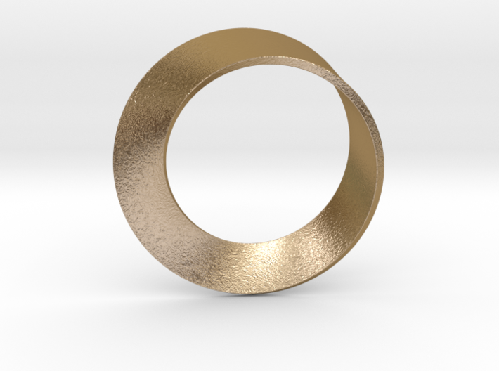 0153 Mobius strip (p=1, d=5cm) #001 3d printed