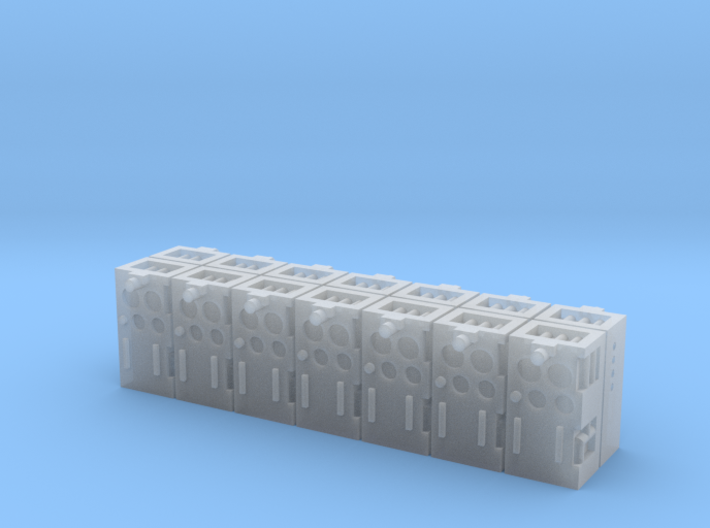 1:87 Controller for THP 14 pcs.- Bedieneinheit THP 3d printed