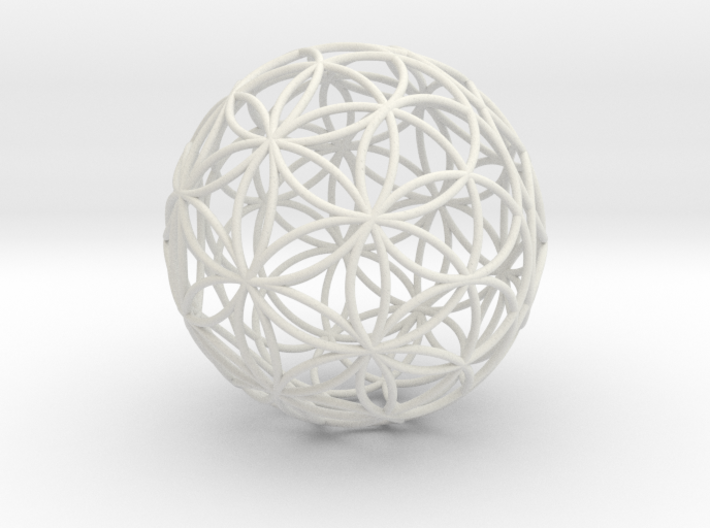 3D 300mm Orb of Life (3D Flower of Life)  3d printed